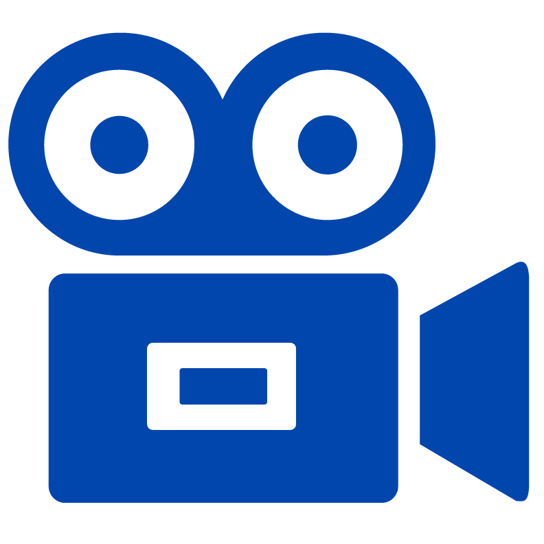 Clip art of video camera